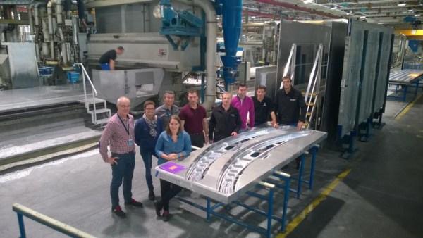 Erste Komponenten für den Beluga XL nehmen Gestalt an (© Airbus)
