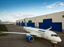 Bombardier CS100 (© Bombardier)