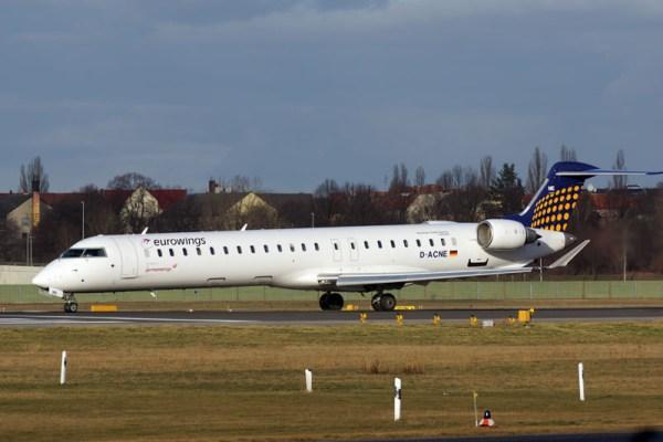 Eurowings Bombardier CRJ900 (© O. Pritzkow)