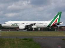 Alitalia Airbus A320-200 (© O. Pritzkow)
