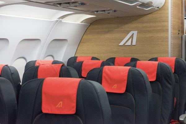 Economy Class in der Europa-Flotte (© Alitalia)