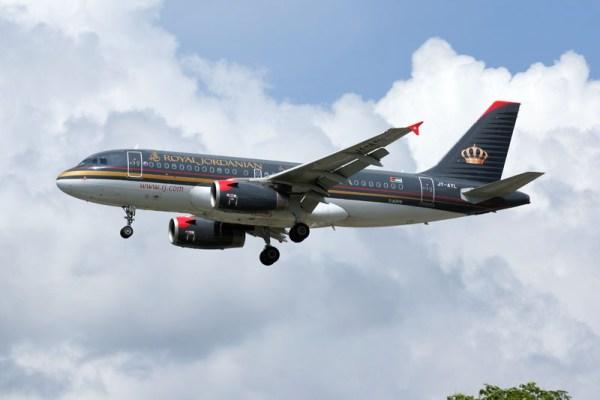Airbus A319-100 der Royal Jordanian (© O. Pritzkow)