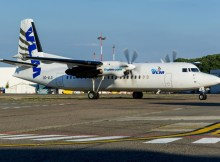 Fokker 50 der VLM (© HAM Airport)