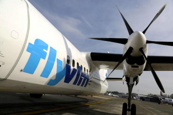 VLM Fokker 50 (© FDH Airport)