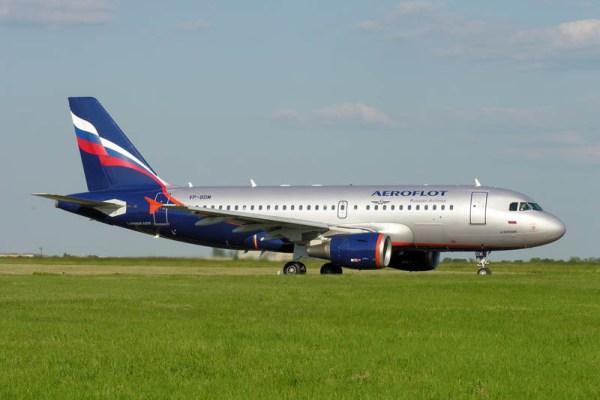 Airbus A319-100 der Aeroflot (© O. Pritzkow)