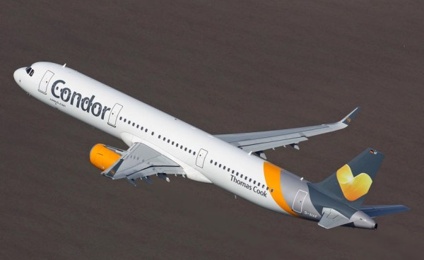Condor Airbus A321 im Flug (© Condor)