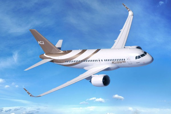 Airbus ACJ319neo im Farbkleid der K5 Aviation (© Airbus)