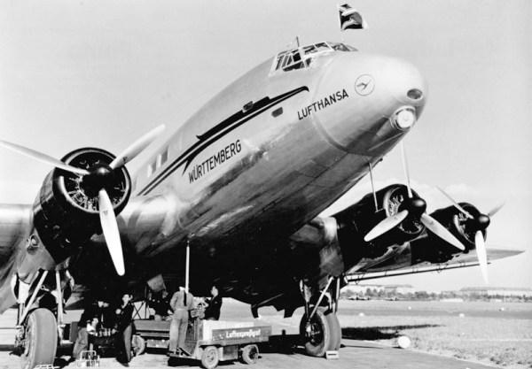 Junkers Ju 90. Im Einsatz ab 1939 (© Lufthansa)