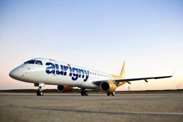 Embraer 195 der Aurigny Air Service (© Embraer)