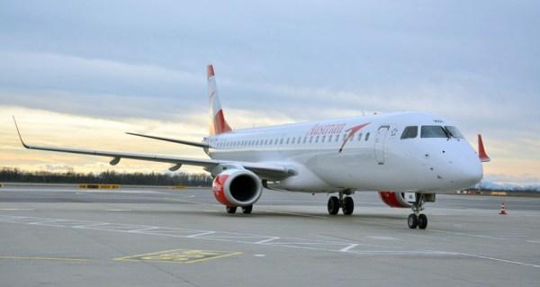 Austrian Airlines Embraer 195 (© AUA)