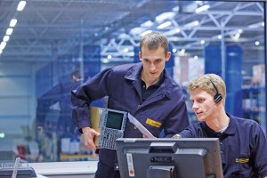 Mitarbeiter der Lufthansa Technik (© LHT)