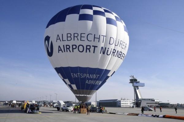 Ballon des Albrecht Dürer Airports (© Nürnberg Airport)