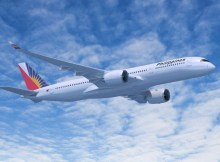 Airbus A350-900 in den Farben der Philippine Airlines (© Airbus)