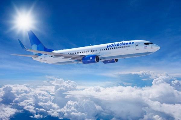 Pobeda Boeing 737-800 (© Pobeda)