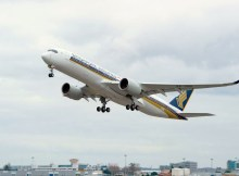 Airbus A350-900 XWB der Singapore Airlines (© Airbus)