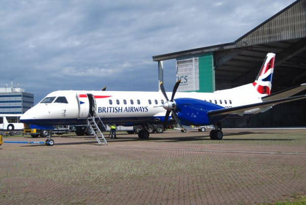 British Airways Saab 2000 (© HAM Airport)
