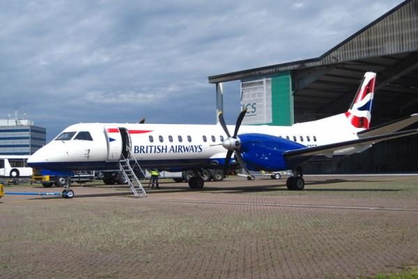 British Airways Saab 2000 (© HAM Airport)