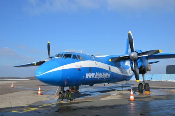 Antonow An-26 der Bright Flight (© PAD)