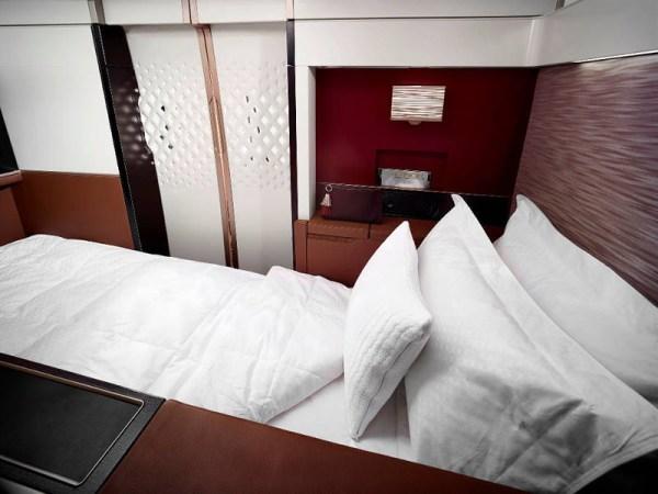 First Suite in der Boeing 787 der Etihad