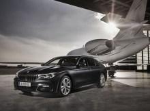 BMW vor Businessjet (© Flughafen Wien)