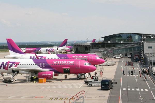 Wizz Air am Flughafen Dortmund (© DTM Airport)