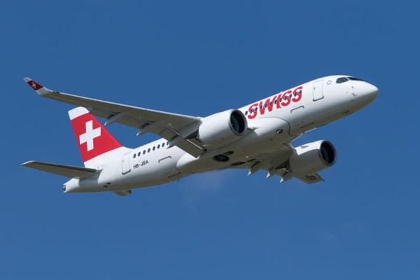 Swiss Bombardier CS100 (© Swiss)