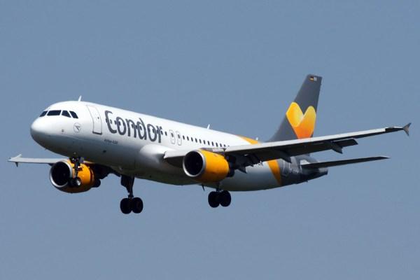 Condor Airbus A320-200 (© HAM Airport)