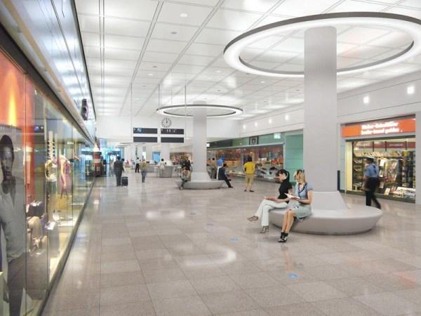 Ankunftsebene im T2 (© MUC Airport)