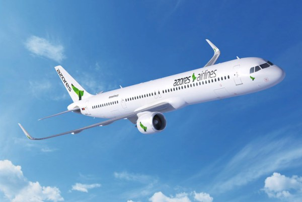 Airbus A321neo in den Farben der Azores Airlines (© Airbus)