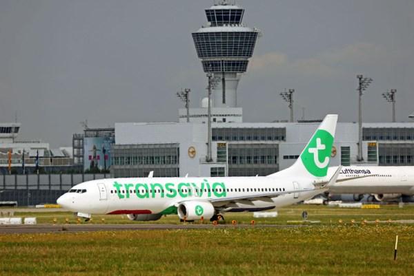 Transavia am Flughafen München (© M. Fritz, FMG)