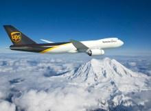 Boeing 747-8F in UPS-Farben (© Boeing)