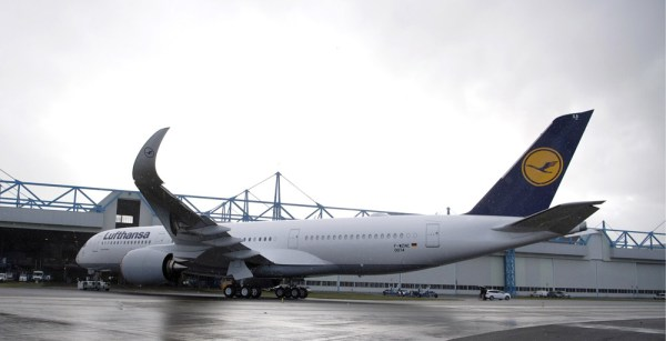 Erster Airbus A350-900 für Lufthansa in Toulouse (© Airbus)