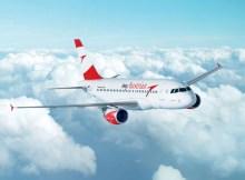 Airbus A319 der Austrian Airlines