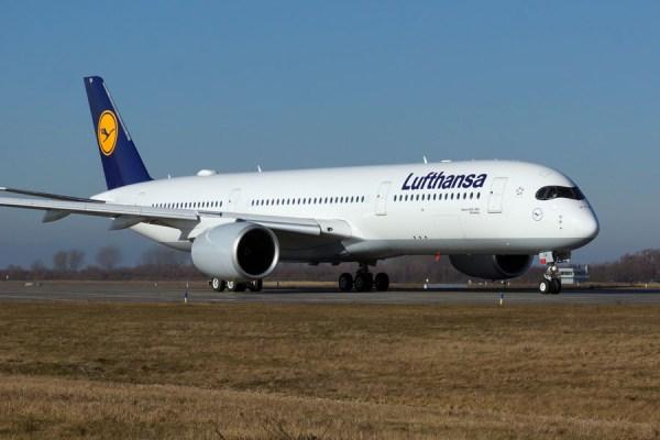 Lufthansa Airbus A350-900 (© O. Pritzkow)