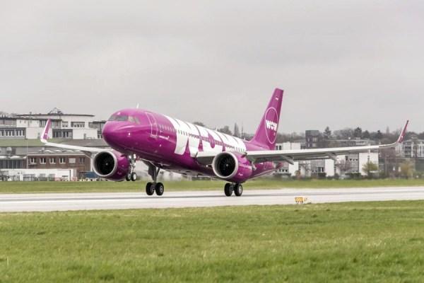 WOW Air Airbus A320neo (© WOW Air)