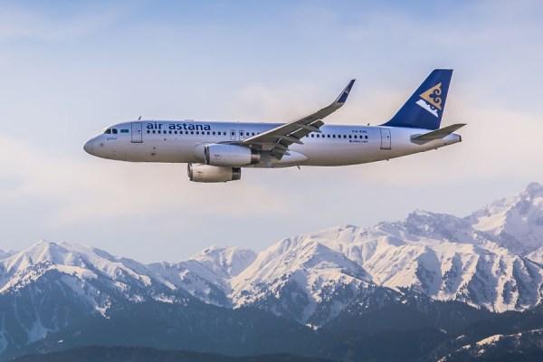 Air Astana Airbus A320 (Foto: Air Astana)