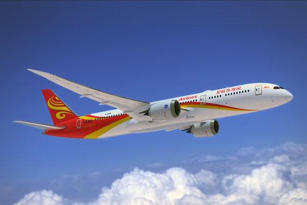 Boeing 787-9 der Hainan Airlines (© Boeing)