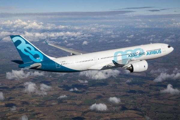 Airbus A330-800 im Flug (© Airbus)