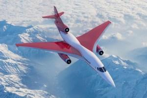 Geplanter Business-Jet von Aerion Supersonic (© Aerion)