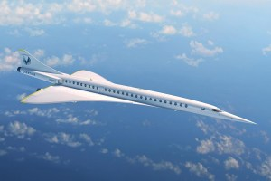 Geplantes Passagierflugzeug von Boom Supersonic (© Boom)