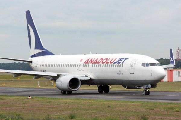 Anadolujet Boeing 737-800 (© O. Pritzkow)