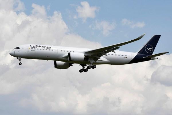 Airbus A350 der Lufthansa (© LH)