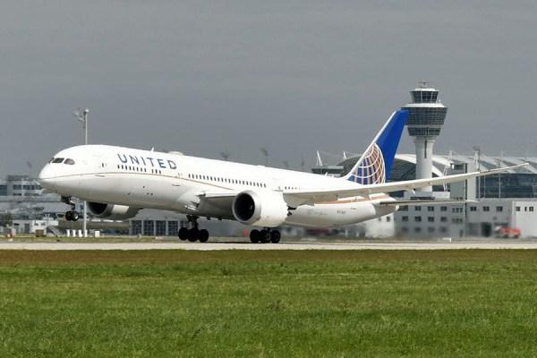 United Boeing 787-9 am Flughafen München (Foto: ATF Pictures München)