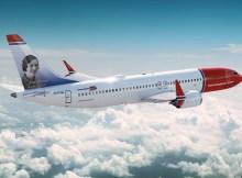 Norwegian Boeing 737 MAX 8 (Foto: CC Norwegian)