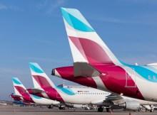 Line-up (Foto: Eurowings)