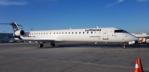 Bombardier CRJ-900 der Lufthansa CityLine (Foto: Lufthansa)