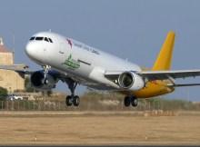 Start eines A321F der Smartlynx Cargo (Foto: Smartlynx)
