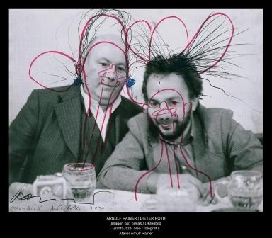 Arnulf Rainer und Dieter Roth Deichtorhallen Hamburg