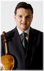 Vladen Chernomor - Neuer 1. Violinist in Strasbourg