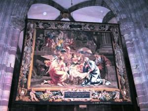 Tapisserie Jesu Geburt (Photo:MP)